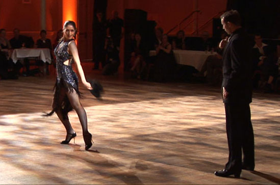 Performing at the NZ Tango Festival, Wellington Town Hall