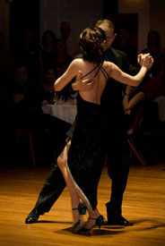 John & Felicity: Tango performers at the Tango Gala & Charity Ball, Wellington Town Hall, Sept 2011
